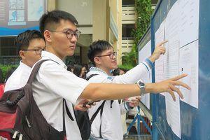 Chiều nay, 8-8, các trường ĐH bắt đầu công bố điểm chuẩn