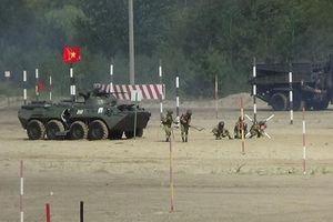 Đội Công binh Việt Nam thắng Kyrgyzstan, vào chung kết Army Games