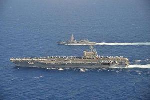 Tàu sân bay Mỹ tuần tra Biển Đông, Việt Nam nói gì?