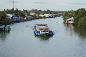 Tạm dừng lưu thông qua kênh Rạch Giá – Hà Tiên để đắp đập