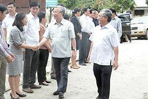 Thường trực Ban Bí thư Trần Quốc Vượng thăm và làm việc tại tỉnh Kon Tum