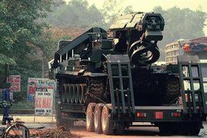 Mục kích công binh Việt Nam huấn luyện trong thời bình