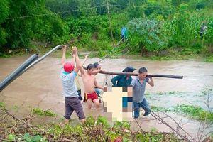 Đắk Lắk: Mưa lớn, một người dân bị nước cuốn trôi