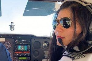 Nữ phi công gốc Việt đầu tiên đặt mục tiêu một mình bay vòng quanh thế giới