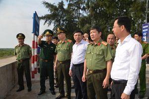 Bộ trưởng Bộ Công an Tô Lâm thăm các đồn Biên phòng thuộc BĐBP Quảng Ninh