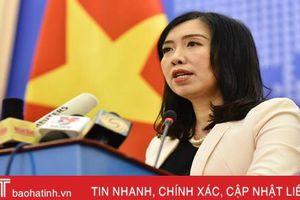 Tàu Hải Dương 8 của Trung Quốc đã rút khỏi EEZ, thềm lục địa Việt Nam