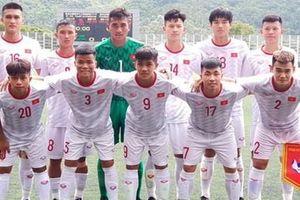 Việt Nam chiến thắng trong trận ra quân Giải bóng đá U18 Đông Nam Á
