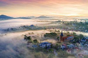 Ngắm vẻ đẹp mê hồn của Việt Nam nhìn từ trên cao