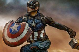 'Avengers: Endgame': Tấm khiên của Captain America đã tự động phục hồi trong trận tử chiến với Thanos?