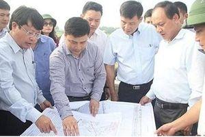 Hà Tĩnh: Dừng thi công các công trình trong hành lang đường cao tốc Bắc - Nam