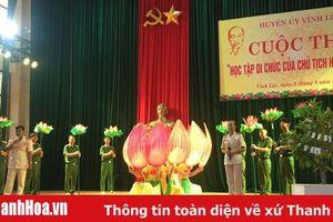Huyện Vĩnh Lộc tổ chức Chung kết cuộc thi 'Học tập Di chúc của Chủ tịch Hồ Chí Minh'