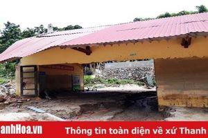 Ngành giáo dục Quan Sơn thiệt hại nặng nề do mưa lũ