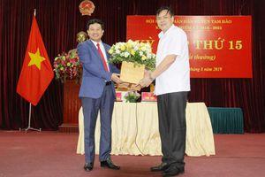 Vĩnh Phúc: Tam Đảo có tân Chủ tịch huyện