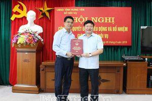 Nhân sự mới ở Hưng Yên, Phú Yên, Bến Tre