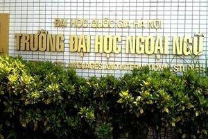 Điểm chuẩn năm 2019 trường Đại học Ngoại ngữ - Đại học Quốc gia Hà Nội