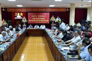 Hội thảo 'Thân thế và sự nghiệp nhà văn dân tộc Tày Nông Viết Toại'