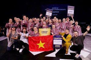 Nhóm nhảy Lyricist giành giải Quán quân Đông Nam Á 2019