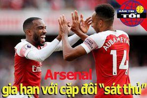 Arsenal giữ chân bộ đôi 'sát thủ'; Sane lỡ cơ hội rời Man City