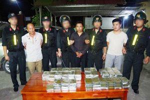 Bắt giữ vụ vận chuyển ma túy 'khủng'