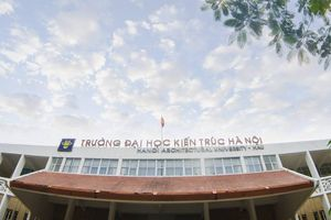 Điểm chuẩn Đại học Kiến trúc Hà Nội cao nhất lấy 26,5 điểm