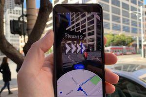 Google Maps AR bắt đầu hỗ trợ Live View