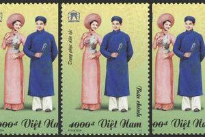 Giới thiệu bộ tem 'Trang phục dân tộc'