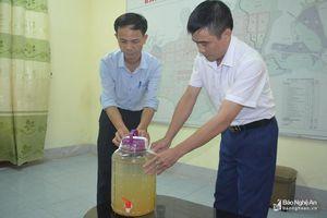 Nguồn nước nhiễm Asen, huyện Quỳ Hợp kiến nghị di dời cửa lấy nước đầu vào