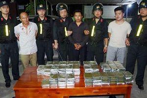 Phá đường dây vận chuyển ma túy 'khủng' từ Lào về Việt Nam, thu 120 bánh heroin