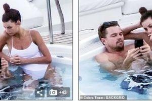 Tình trẻ không ngừng quấn quýt bên Leonardo DiCaprio