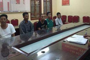 Hà Nội: Bắt ổ nhóm cưỡng đoạt tài sản ở khu vực Pháp Vân - Cầu Giẽ