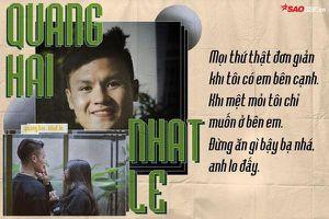 Trước khi rộ tin đồn chia tay Nhật Lê, Quang Hải đích thực là hoàng tử ngôn tình
