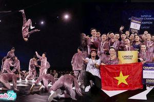 'LYRICIST' trở thành nhóm nhảy đầu tiên của Việt Nam đạt giải quán quân cuộc thi nhảy lớn nhất Đông Nam Á 'Super 24'