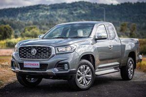 Bán tải Trung Quốc MG Extender ra mắt, tham vọng 'đấu' Ford Ranger