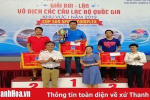Thanh Hóa xếp thứ nhì toàn đoàn tại Giải bơi – lặn vô địch các câu lạc bộ quốc gia - Cúp Sun Sport Complex 2019