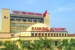 Điểm chuẩn năm 2019 của Học viện Ngân hàng