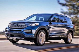 Ford Explorer 2020 lỗi phần mềm và lắp thiếu bộ phận