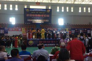 Khai mạc Giải võ thuật các CLB tài năng trẻ Việt Nam năm 2019