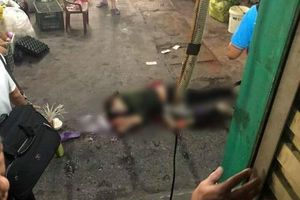 Điều tra vụ nam thanh niên đâm chết người phụ nữ rồi tự sát ngay cổng chợ