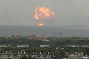 5 người chết trong vụ thử nghiệm động cơ tên lửa ở Nga