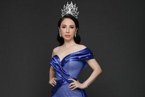 Hoa hậu Châu Ngọc Bích khoe sắc rạng rỡ sau nửa năm đăng quang