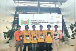 Học sinh Trường phổ thông chuyên Lam Sơn Thanh Hóa thắng lớn ở kỳ thi quốc tế
