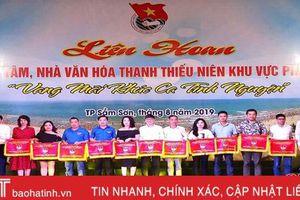 Trung tâm Thanh thiếu nhi Hà Tĩnh đạt giải xuất sắc liên hoan khu vực phía Bắc