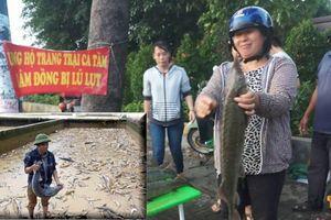 Người TP.HCM mua cá tầm giá rẻ ủng hộ chủ vựa ở Lâm Đồng mất hàng chục tỉ vì lũ