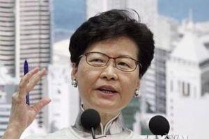 Lãnh đạo Hong Kong hối thúc ngừng bạo lực, vượt qua 'vũng lầy' kinh tế