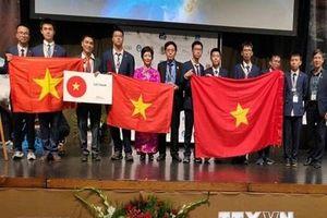 Việt Nam đoạt giải lớn tại kỳ thi Olympic quốc tế về Thiên văn học