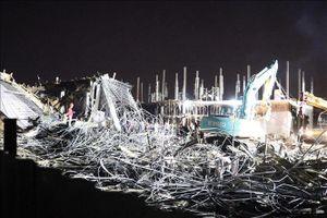 Khởi tố vụ án vụ sập công trình xây dựng tại Hải Phòng