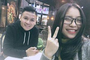 Trước tin đồn chia tay, Quang Hải khoe với mẹ nuôi: Nhật Lê rất xinh đẹp