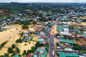 Tây Nguyên, Nam Bộ: Gần 1.000 tỷ đồng 'trôi' theo mưa lũ