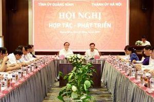 Hà Nội - Quảng Ninh: Hợp tác chặt chẽ trên nhiều lĩnh vực