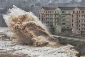 Bão Lekima gây thiệt hại khiến ít nhất 13 người chết tại Trung Quốc